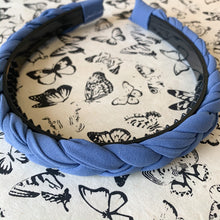 Load image into Gallery viewer, Shop braided periwinkle headband at Federal & Black