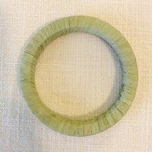Load image into Gallery viewer, Shop our raffia wrapped bangle bracelets and more at Federal & Black