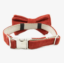 Load image into Gallery viewer, Saffron Bow Tie Collar