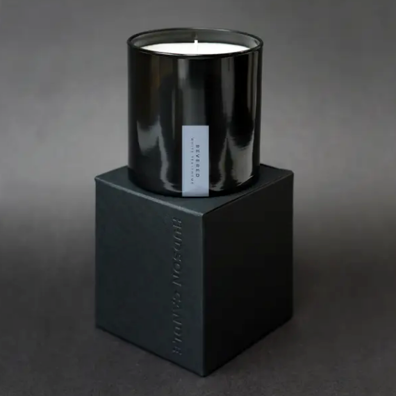 Shop the Revered Candle - White Tea & Thyme by Hudson Candle at Federal & Black