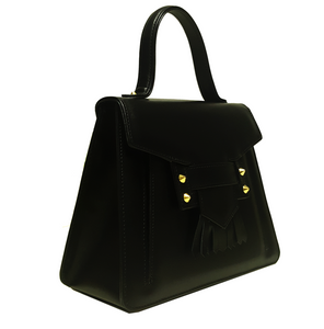 Shop the Calfskin Top Handle Handbag Tote at Federal & Black