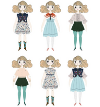 Load image into Gallery viewer, Shop the Magnolia Paper Doll and others by Of Usual Kind at Federal & Black