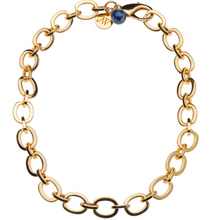 Load image into Gallery viewer, Shop the Chunky Link Chain in Brass 14K Gold Plated by Jane Winchester Jane Win at Federal & Black