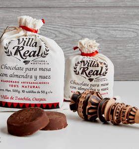 Shop Villa Real Mexican Hot Chocolate, in Sweet Dark flavor, at Federal & Black