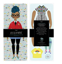 Load image into Gallery viewer, Shop the Rose Marie Paper Doll by Of Unusual Kind at Federal & Black