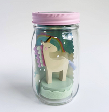 Load image into Gallery viewer, Shop the Unicorn Mason Jar Solar Light at Federal & Black
