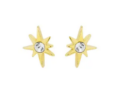 Load image into Gallery viewer, Little Dipper Studs in 18k Gold Plate