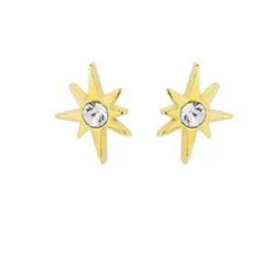 Little Dipper Studs in 18k Gold Plate