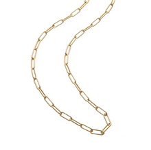 Load image into Gallery viewer, Shop the Jane Winchester Gold Drawn Link Chain at Federal & Black