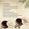 ALPHAVEDIC COFFEE LIP BALM AND LIP SCRUB COMBO (100% ORGANIC) LONG-LASTING MOISTURISING AND LIGHTENS, BRIGHTENS & REPAIRS DARK, DRY, CHAPPED AND SUN DAMAGED LIPS