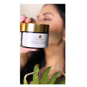 Revitalising and Brightening Ayurvedic Night Cream 50 GMS