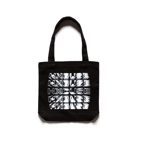 LOGOTYPE HOLLOW BEVEL TOTE BAG