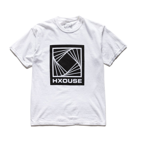 HXOUSE LOGO T-SHIRT WHITE