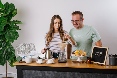 Pour Over Brewing by Dripbox