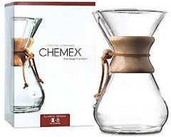 CHEMEX Pour Over Glass Coffeemaker