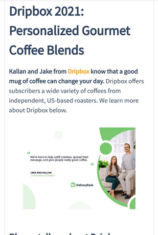 Dripbox DeliveryRank Interview
