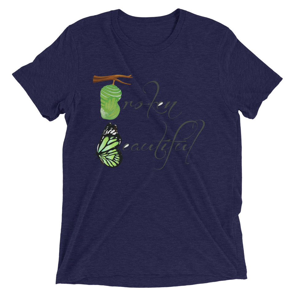 Broken Beautiful short sleeve t-shirt - BrokenBeYoutiful