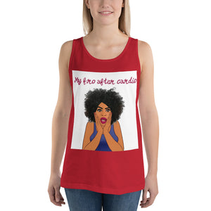 Fro Cardio Tank Top - BrokenBeYoutiful