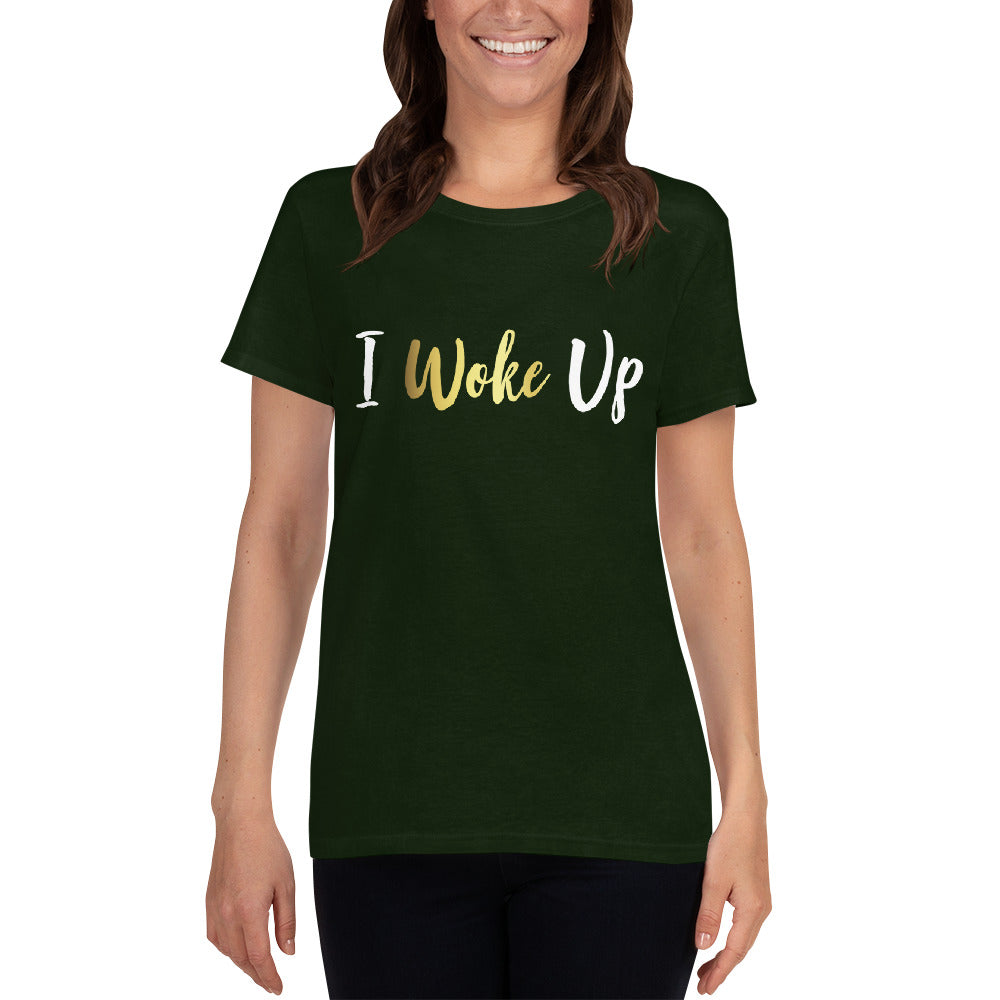 I Woke Up t-shirt - BrokenBeYoutiful