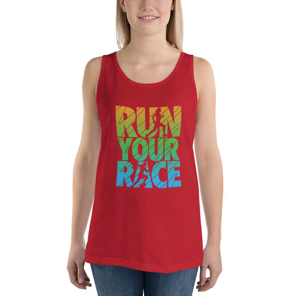 RUN YOUR RACE Tank Top - BrokenBeYoutiful