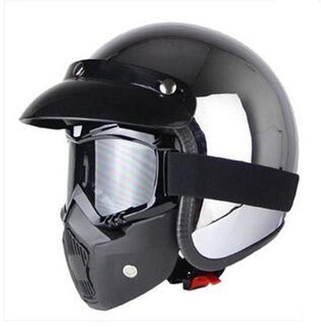 Casco vintage para scooter