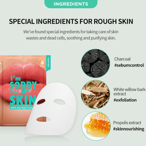 I´m sorry for my skin pH 5.5 PURIFYING Jelly Mask