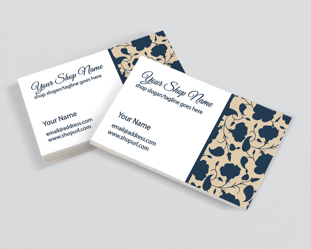 Chic 12 - il - Printable Business Card Design