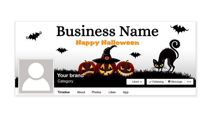 Halloween Facebook Timeline Cover - 2