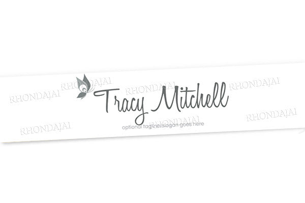 Logo Style 9 - Website Header Banner - Blog Design - Header Banner - Tracy Mitchell