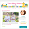 Sewing Two A - Premium Blogger Template - Blog Design