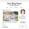 Minimalist  Simple 2 - Premium Blogger Template - Blog Design