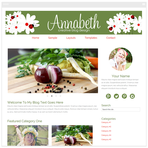 Annabeth - Mobile Responsive WordPress Theme - Genesis Child Theme and Framework