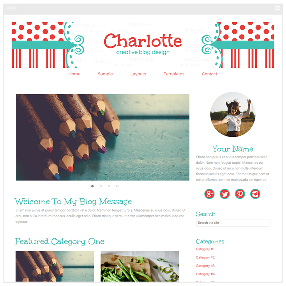 Charlotte - Mobile Responsive WordPress Theme - Genesis Child Theme and Framework