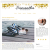 Samantha - Mobile Responsive WordPress Theme - Genesis Child Theme and Framework