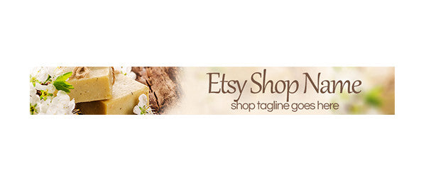 Soap 1 - Etsy Shop Banner