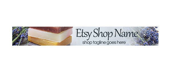 Soap 2 - Etsy Shop Banner