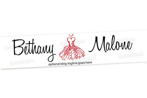 Blog Design - Website Header Banner - Header Banner - Bethany Malone