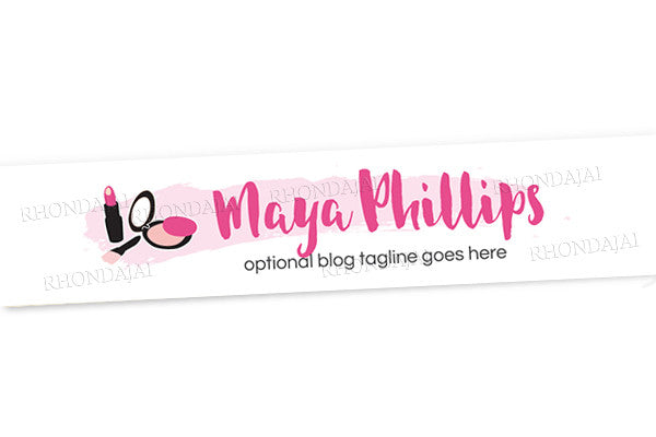 Blog Design - Website Header Banner - Header Banner - Maya Phillips