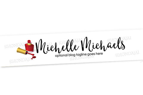 Blog Design - Website Header Banner - Header Banner - Michelle Michaels