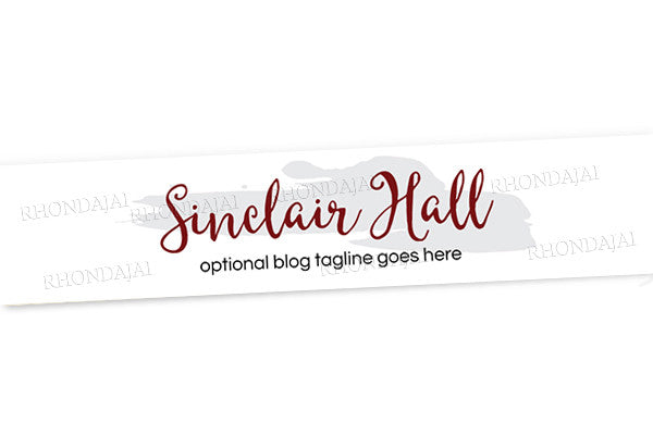 Blog Design - Website Header Banner - Header Banner - Sinclair Hall