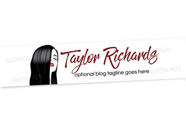 Blog Design - Website Header Banner - Header Banner - Taylor Richards