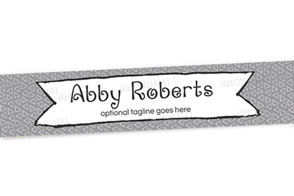 Blog Design - Website Header Banner - Header Banner - The Abby Roberts Collection