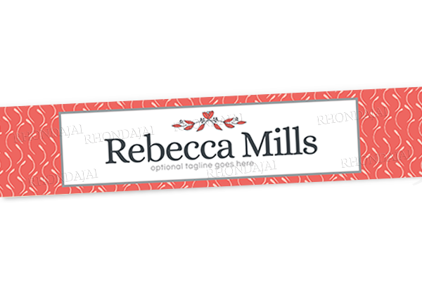 Blog Design - Website Header Banner - Header Banner - Rebecca Mills