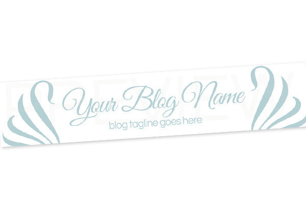 Blog Header Banner - Blue Chic 2 - PS