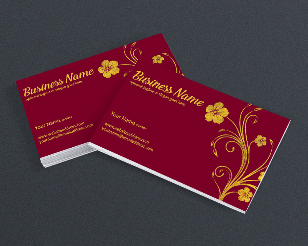 Business Card Design - The Madelyn Collection