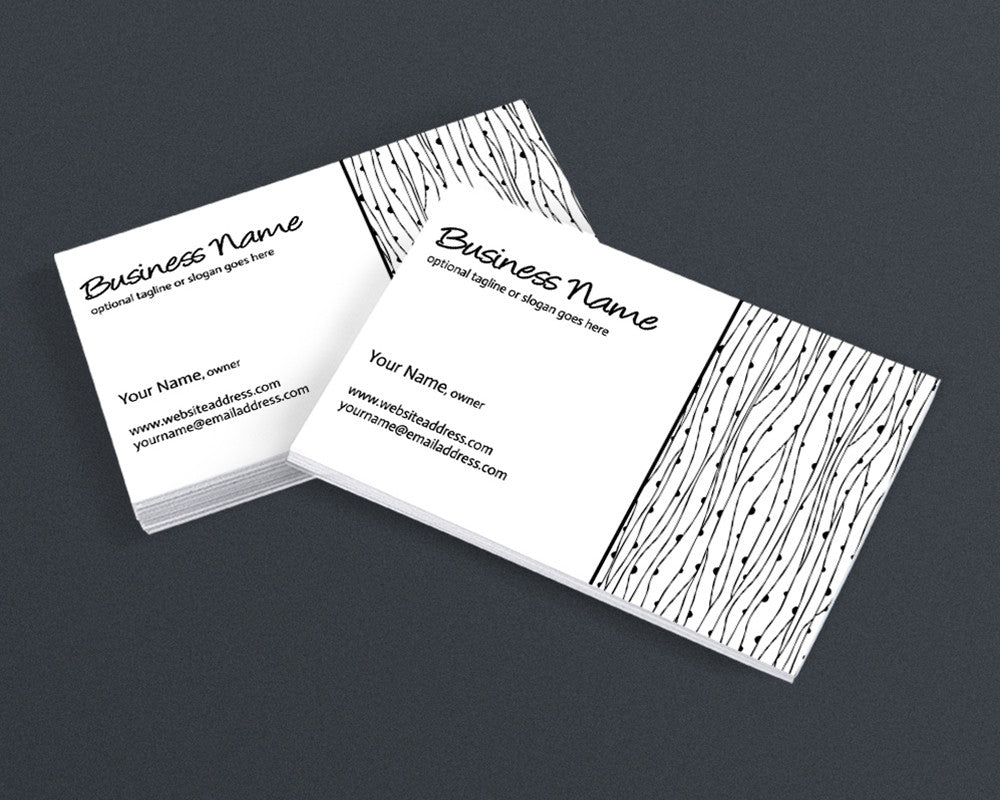 Business Card Design - The Avery Collection
