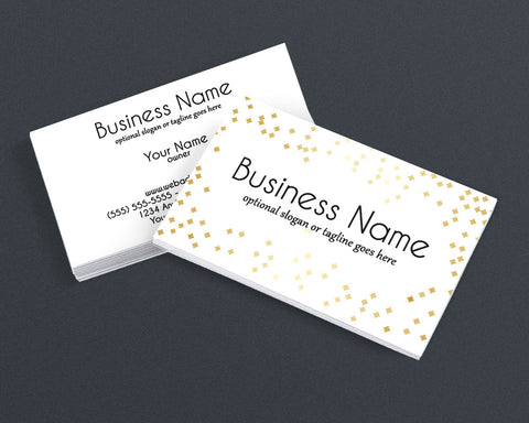 Audrey - 2 Sided Business Card Design
