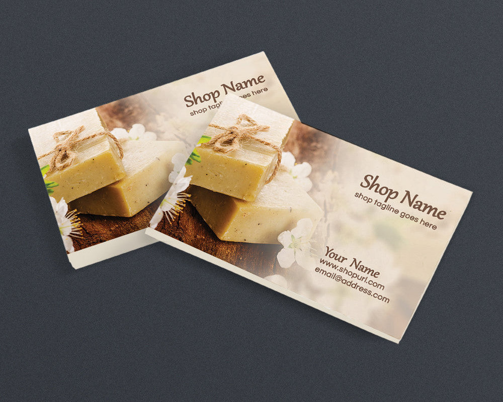 Soap 1 - PS - Printable Business Card Design