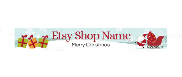 Christmas Etsy Banners 144