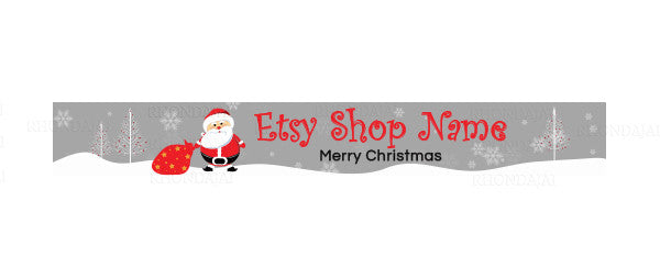 Christmas Etsy Banners 147